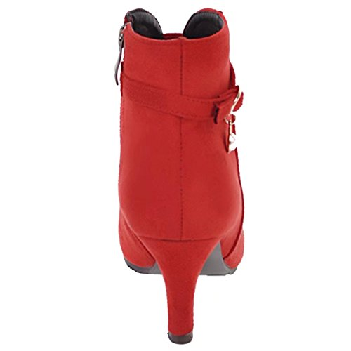 AIYOUMEI AIYOUMEI Women's Red Boot Classic Women's CSqCz