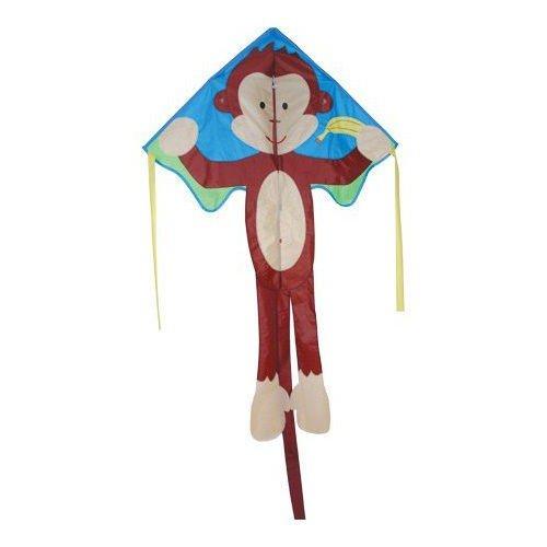 Stkertools(TM) Kite - Large Easy Flyer - Mikey (Mikey Monkey)