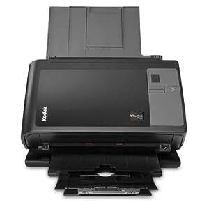 Kodak i2800 Scanner - Escáner plano (600 x 600 DPI, USB 2.0), negro