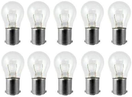 10 Pack 1141 S8 Low Voltage Landscape Light Bulbs 12v 18w Ba15s Bayonet Amazon Com