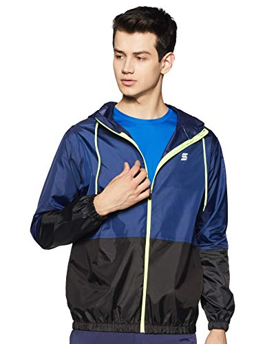 Amazon Brand – Symactive Men's Lightweight Rain Jacket