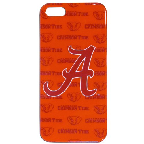 NCAA Alabama Crimson Tide Silhouetted iPhone 5 Crystal Snap on -