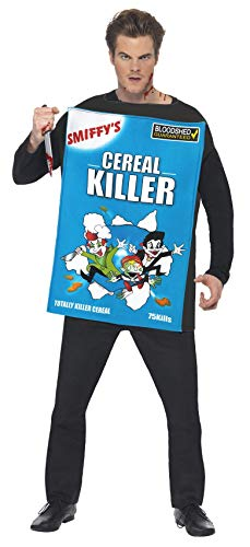 Smiffys Men's Cereal Killer -