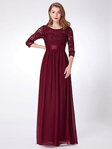 Ever damigella vita donna da elegante 07412 Borgogna Pretty Abiti impero d'onore rw6traq