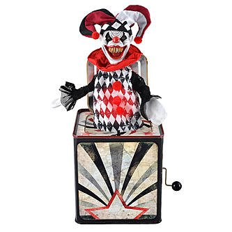 Totally Ghoul Jester Jack In Box Halloween (Halloween Jack In The Box Costume)