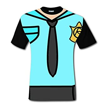 roblox police men s short sleeve breathable t shirt 2017 the latest