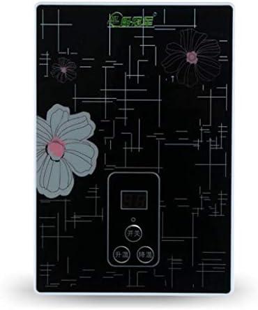 電気温水器用インスタントシャワーパネルキットバスルームキッチン用タンクレス温水器キット220V(カラー:ブラック、サイズ:6000w)