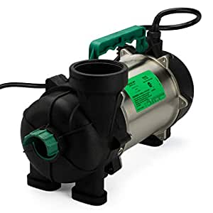 Aquascape 20004 AquascapePRO 7500 Submersible Pump for Ponds, Skimmer Filters, and Pondless Waterfalls, 6,700 GPH