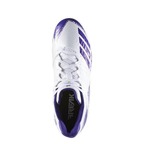 Adidas Buitenissig X Carbon Laag Klamp Mens Voetbal Wit-paars