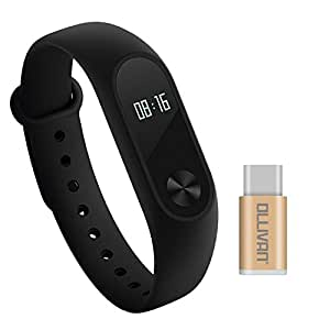 Xiaomi Mi Band 2, Ollivan Wristband Bracelet With OLED Display Smart Heart Rate Monitor Fitness Tracker Watch Bluetooth 4.0 Pedometer IP67 Waterproof