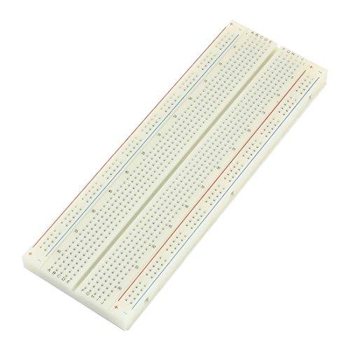 Weiß 830 Tiepoint-Test entwickeln PCB Solderless Brot-Brett 165x55x8mm