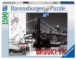 Brooklyn Bridge Jigsaw Puzzle, 1500-Piece