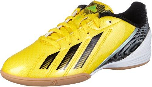 adidas F10 In J, Botas de Fútbol para Niños Amarillo / Negro
