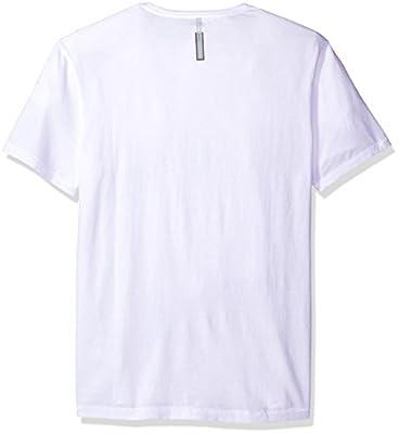 Calvin Klein Jeans Men's Smudged Logo Crew Neck T-Shirt