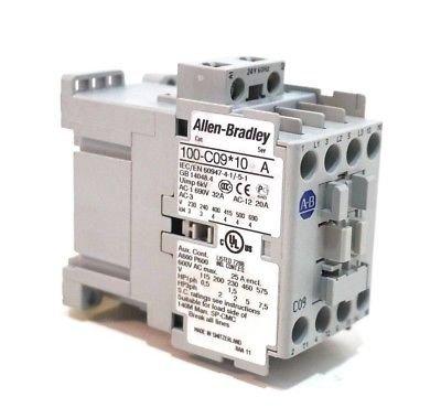 Used Allen Bradley 100-C0910 CONTACTOR SER.A 100C0910