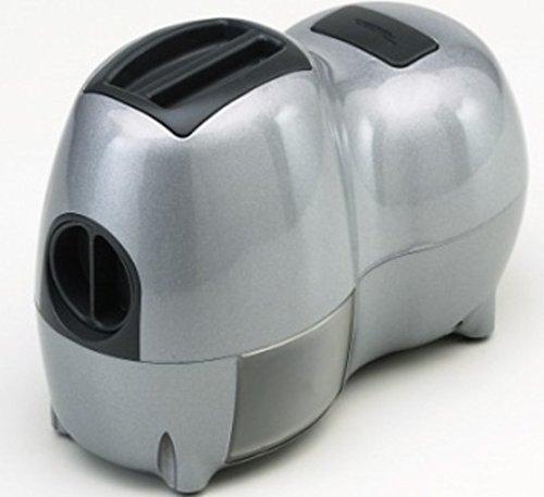 Reber 9250N Grattugia Elettrica Fido, Carcassa in Plastica, Rullo in Acciaio, 140W, Bianco 9250NS