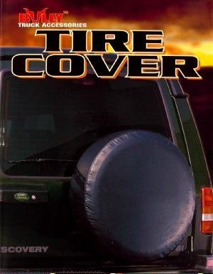 tracker spare tire cover - 1