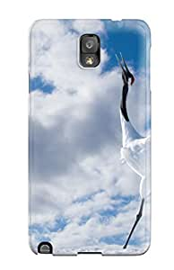 For KUmUiMr3017ZNbnB Japanese Cranes Protective Case Cover Skin/galaxy Note 3 Case Cover