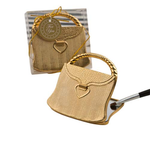 'Elegant Reflections' Collection Gold Purse Compact Mirror (50)