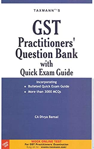 gst practitioners question bank with quick exam guide taxmann sept rh taxheal com SBI Bank Exam SBI Bank Exam 2013
