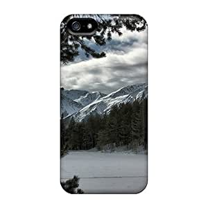 Protection Case For Iphone 5/5s / Case Cover For Iphone(snow Mountain View Hd)