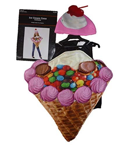 Little Girls Ice Cream Cone Costume Ages 3-8]()