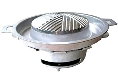Thai Korean Japanese Style BBQ Grill Steak Hot Pan + Stove Set Kitchen Ware from Thai kitchenware