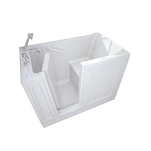4.25 ft. Left-Hand Drain Walk-In Bathtub in White