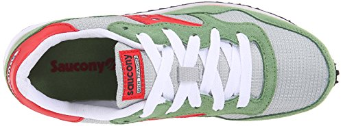 Saucony Originals Damen DXN Trainer Fashion Sneaker Grau Grün