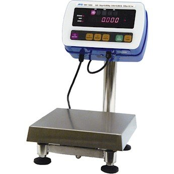 Cole Pressure Balance (A&D Weighing SW-150KL Washdown Industrial Scale, SS Hi-Pressure, 330lb/150kg, NSF; 15.5