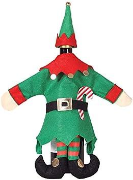 GUIRMA Abrebotellas de Navidad para Disfraz de Elfo 40 cm: Amazon ...