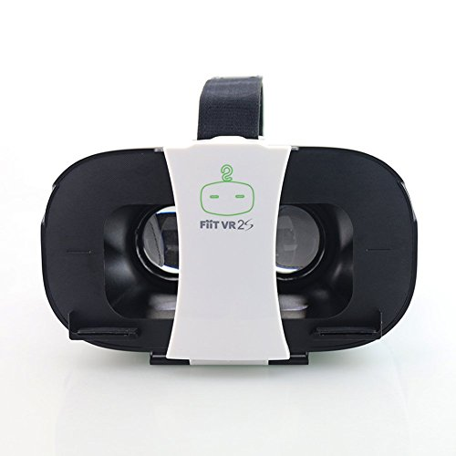"Lubar FiiT VR 2S Virtual Reality 3D Glasses VR Box VR Glasses Google Cardboard for 4.0-6.5"" Smartphone"