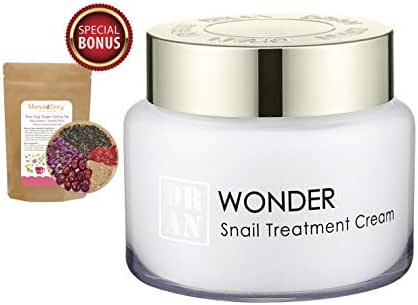 Intensive Snail Anti-Wrinkle Treatment Firming Moisturizer Cream | Collagen Boost & Scar Spots Repair | Brightening & Soothing | 100g/3.5oz (Momoko Story)