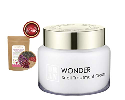 Intensive Snail Anti-Wrinkle Treatment Firming Moisturizer Cream | Collagen Boost & Scar Spots Repair | Brightening & Soothing | 100g/3.5oz (Momoko Story) (Mizon All In One Snail Repair Cream 75ml)