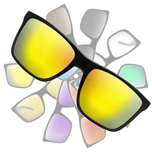 Metallic Yellow Gold Replacement Lenses for Arnette Witch - Replacement Lenses Arnette For Sunglasses