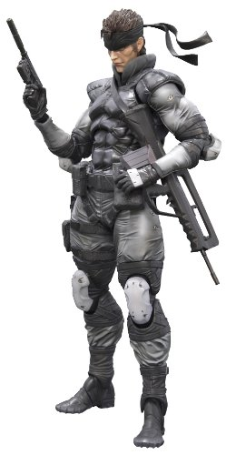 Square Enix Metal Gear Solid Solid Snake Play Arts Kai Action Figure (Solid Snake Square Enix)