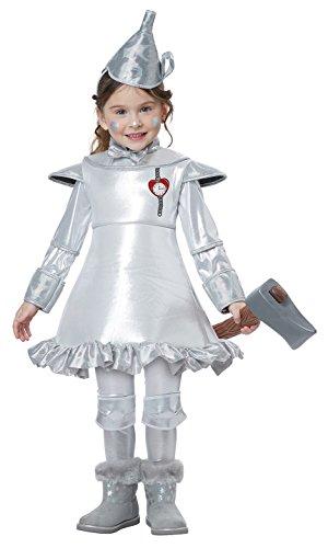 Tin Girl Costumes (Tin Man Of OZ - Toddler Size Medium (3-4))