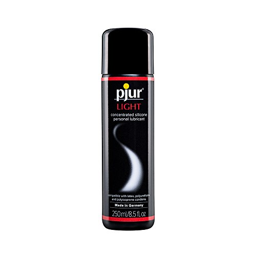 Pjur Light Condom Safe Silicone Personal Lubricant 8.5 Fluid Ounces / 250 Milliliter by Pjur
