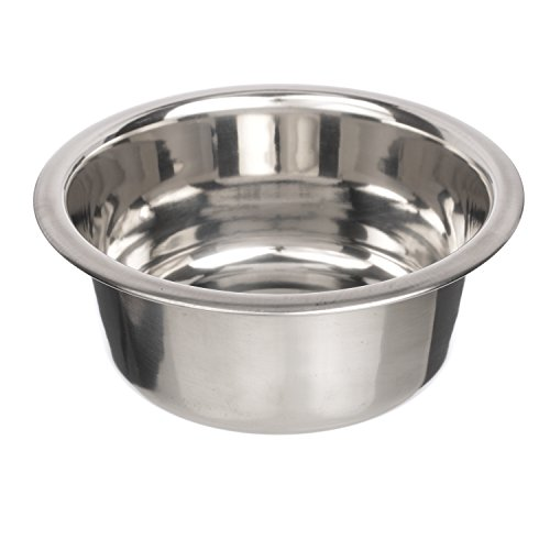 NEATER PET BRANDS Stainless Steel Dog and Cat Bowls - Neater Feeder Deluxe or Express Extra Replacement Bowl (Metal Food and Water Dish) (2.2 Cup)