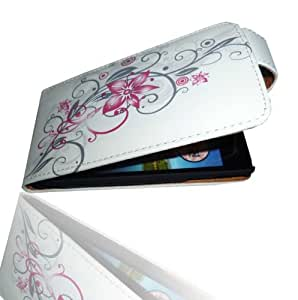 Funda de piel con tapa F4 Carcasa Funda Protectora para Sony Ericsson Xperia ARC/ARC S