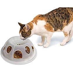 Pioneer Pet Tiger Diner Plastic Food Dish/Bowl, Natural
