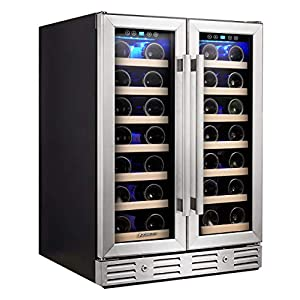 Kalamera Wine Cooler – Fit Perfectly into 24 inch Space Under Counter...