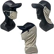 CoolNES Camel Bundle 3 Pack - 1. Neck Face Mask 2. Mask 3. Gaiter