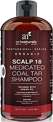 Art Naturals Scalp18 Coal Tar Therapeutic Anti Dandruff Shampoo