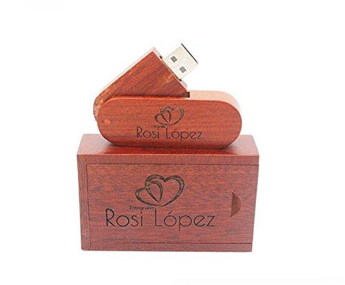 Custom Logo Wood Usb Flash Drive 32GB Wooden Pendrive Stick Usb with Box(More than 20 Pcs Free LOGO)