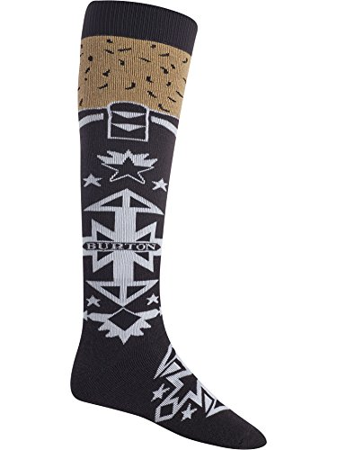 Burton Men's Party Snowboarding Socks, Amigo, Large
