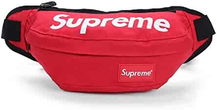 The Mass Supreme Fanny Pack,Supreme Bag (Red)
