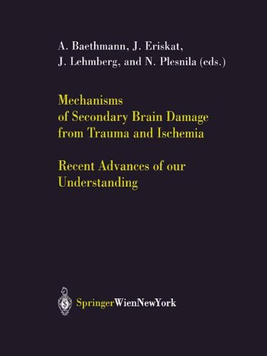 Mechanisms of Secondary Brain Damage from Trauma and Ischemia: Recent Advances of our Understanding (Acta Neurochirurgica Supplement)