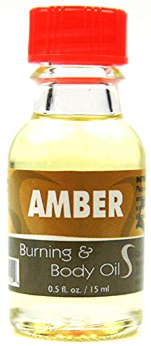 - SouthMineral Fragrance New Rare Amber Pure Essential Oil Alcohol Free 0.5 FL.Oz/ 15ML Mother & Wife Oil & Scent for Body & Oil Burner.