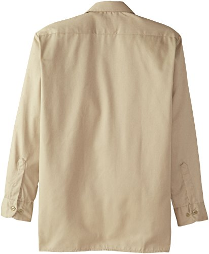 Dickies - 574 à manches longues Chemise de travail, Medium Tall, Khaki